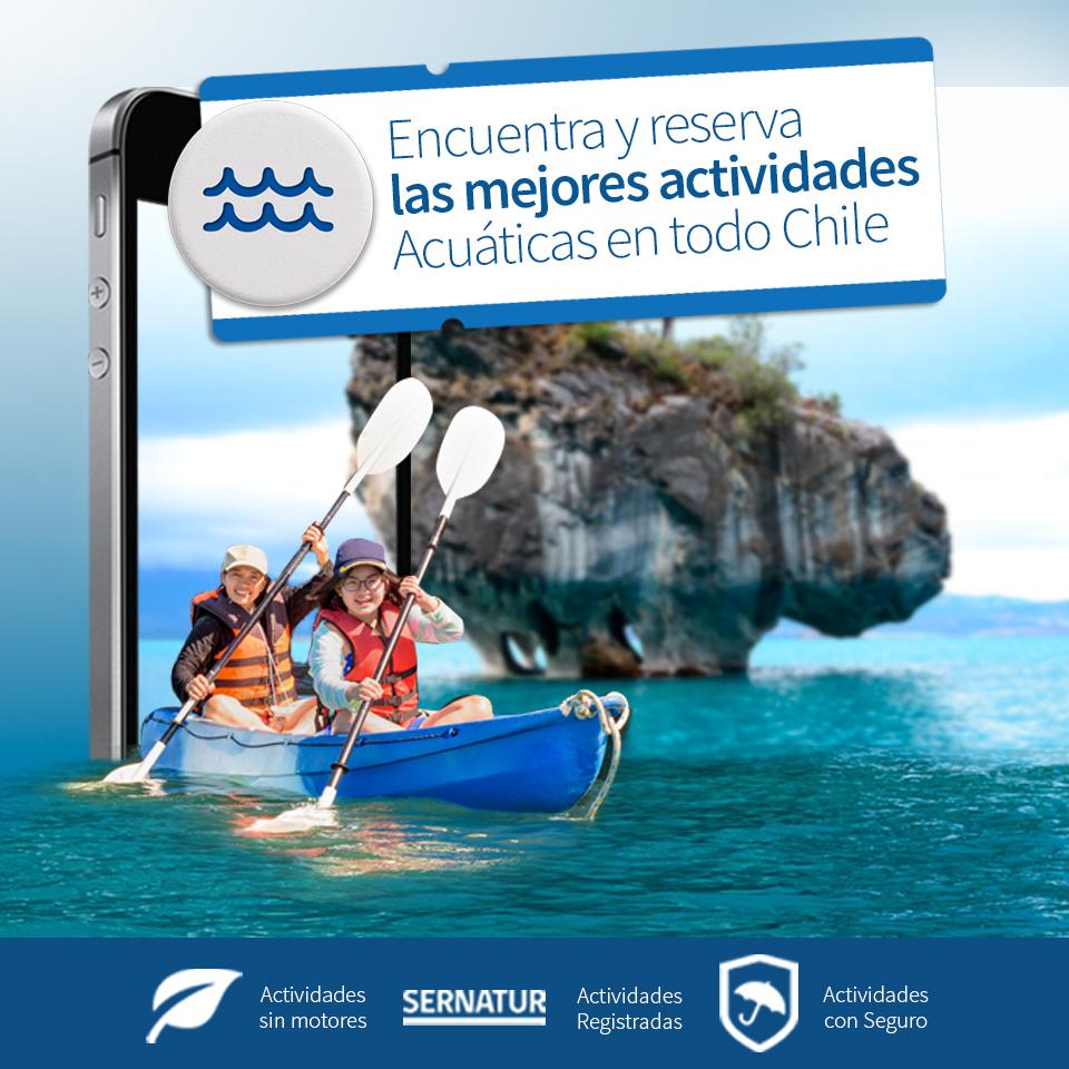Imagen de gráfica digital para redes sociales sobre turismo aventura